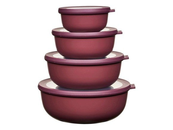 Rosti Mepal - Cirqula Low Bowl Set Of 4 - Nordic Berry (233106)