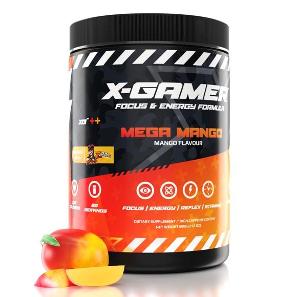 X-GAMER - X-Tubz Mega Mango 600g