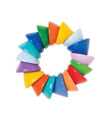 Manhattan Toy - Rangle - Farverige kegler