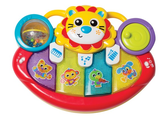 Playgro - Jerry's Class - Lion Activity Kick Toy Piano (1-6385508)