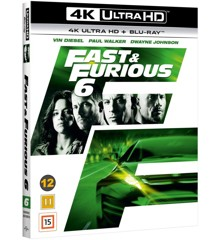 The Fast And The Furious 6 (4K Blu-Ray)