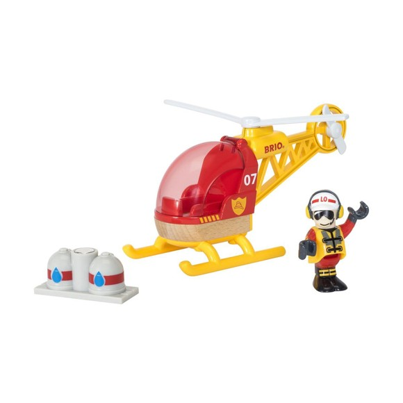 BRIO - Firefighter Helicopter (33797)