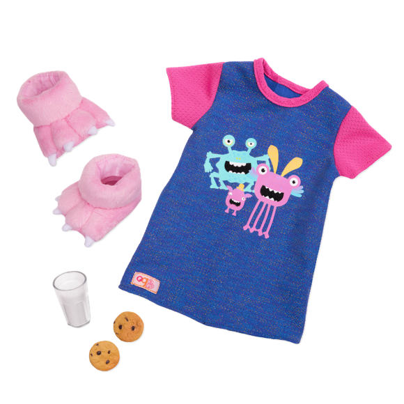 Our Generation - Snuggle Monster Nightdress Set (737473)