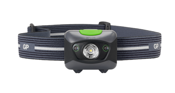 GP XPLOR Headlamp PH14 with Red LED Night Vision