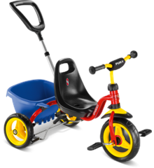 PUKY - Cat 1 S Tricycle - Red/Blue (2213)