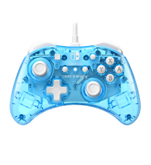 PDP Rock Candy Wired Mini Switch Controller (Blue-Merang)