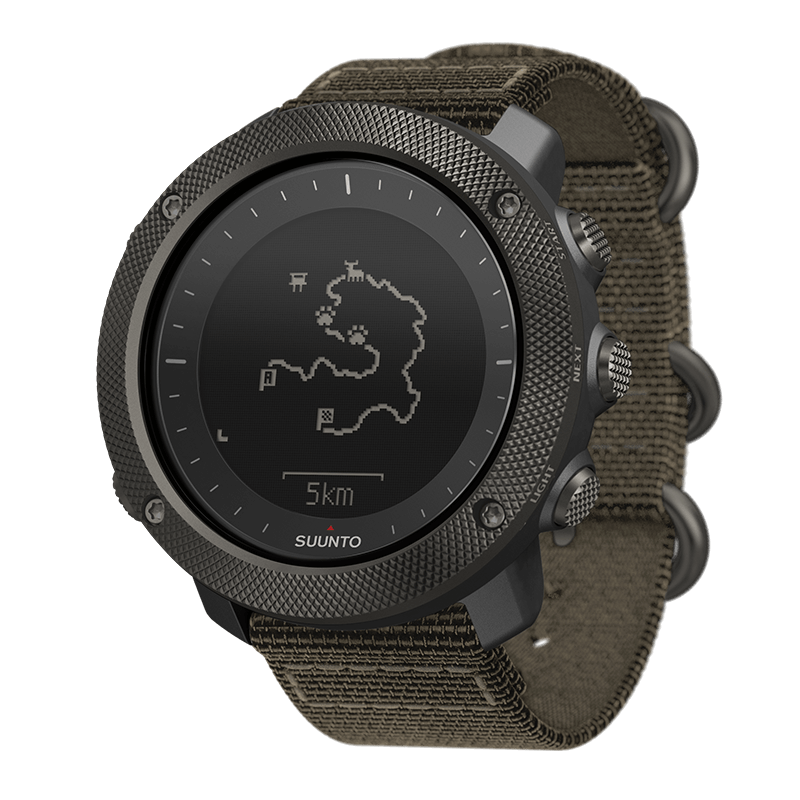 Suunto - Traverse Alpha Foliage Fish & Hunting GPS Watch