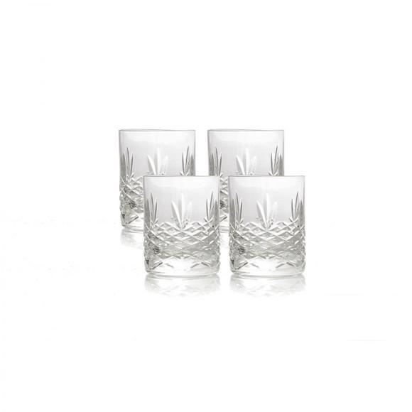 Frederik Bagger - Crispy Mini Lowball Krystal Glas - 4 pak