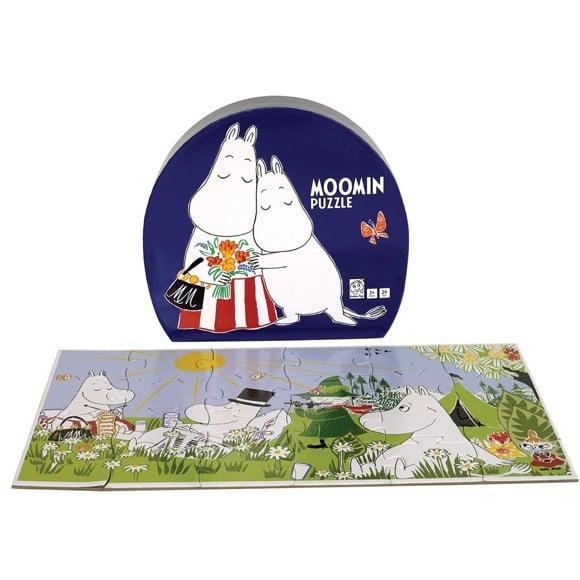 Barbo Toys - Puzzle - Moomin & Moominmamma deco Puzzle(6606)