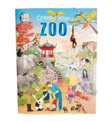 Creative Studio - Create your Zoo Aktivitetsbog m/stickers
