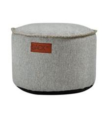 SACKit - RETROit Cobana Drum Puf - Sand Melange  (Kan bruges udendørs)
