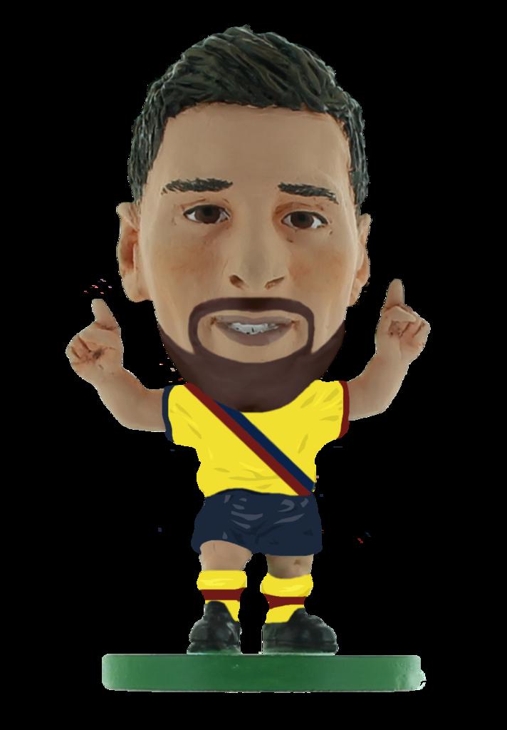 Kjøp Soccerstarz - Barcelona Lionel Messi Away KIT (2020 ...