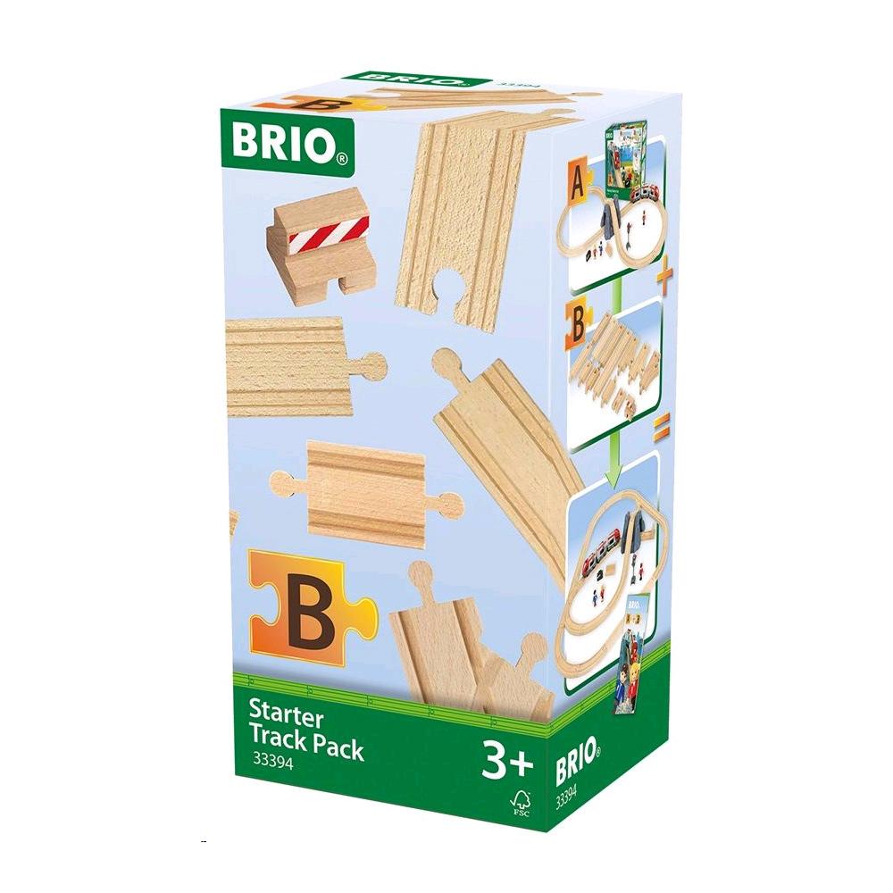 BRIO - Starter Track Pack B (33394)
