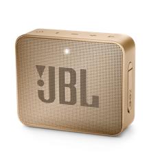 JBL - GO 2 Portable Bluetooth Speaker Champagne