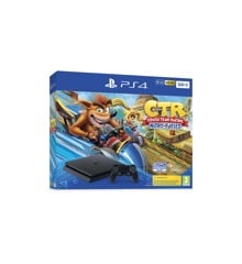 Playstation 4 Console 500GB Black (Crash Team Racing Bundle) (UK)
