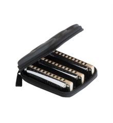 Suzuki - Manji M-20 Harmonica - 3 Pack Diatonic Harmonica's (Keys: C, G, A)