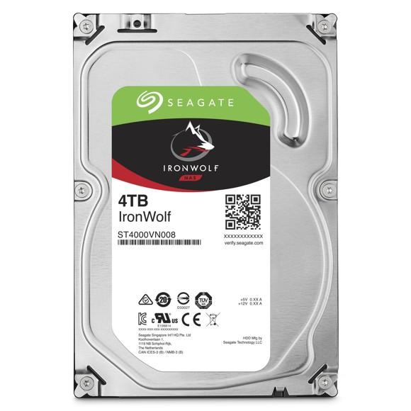 Seagate NAS HDD IronWolf 4TB 4000GB Serial ATA III