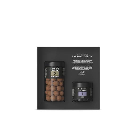 Lakrids By Bülow - Black Box  – D & 1 Lakrids 415 g
