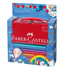 Faber-Castell - Jumbo GRIP Painting Set hot air balloon (201312)