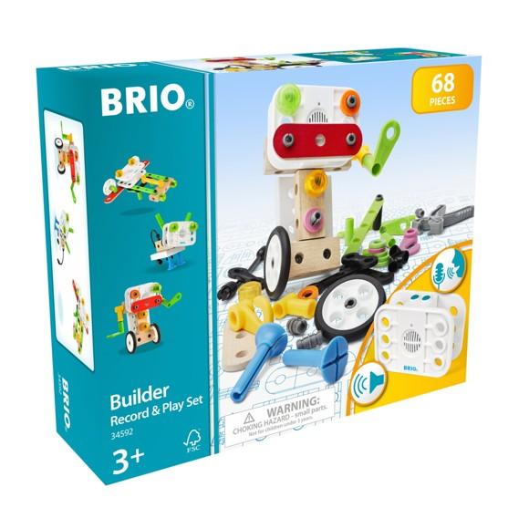 BRIO - Builder legesæt med optager og afspiller (34592)
