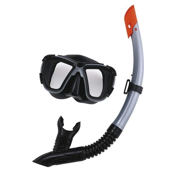 Bestway - Hydro-Pro - BlackSea Mask & Snorkel SetAdult - Grey (24021G)