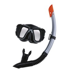 Bestway - Hydro-Pro - BlackSea Maske & Snorkel Sæt til Voksne - Grå (24021G)