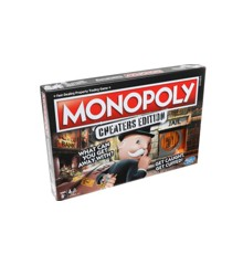 Hasbro Gaming - Monopoly - Cheaters Edition DK/NO