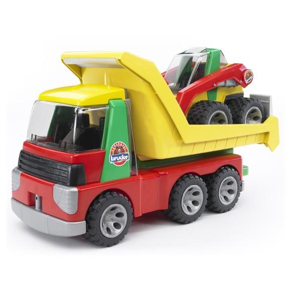 Bruder 2+ - Roadmax - Lastbil med Minilæsser