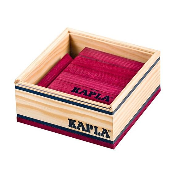 Kapla - Violet bricks - 40 pc