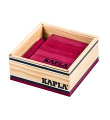 Kapla - Violette Steine - 40 Stück
