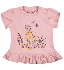​PAPFAR - Slub Jersey Girls SS Top