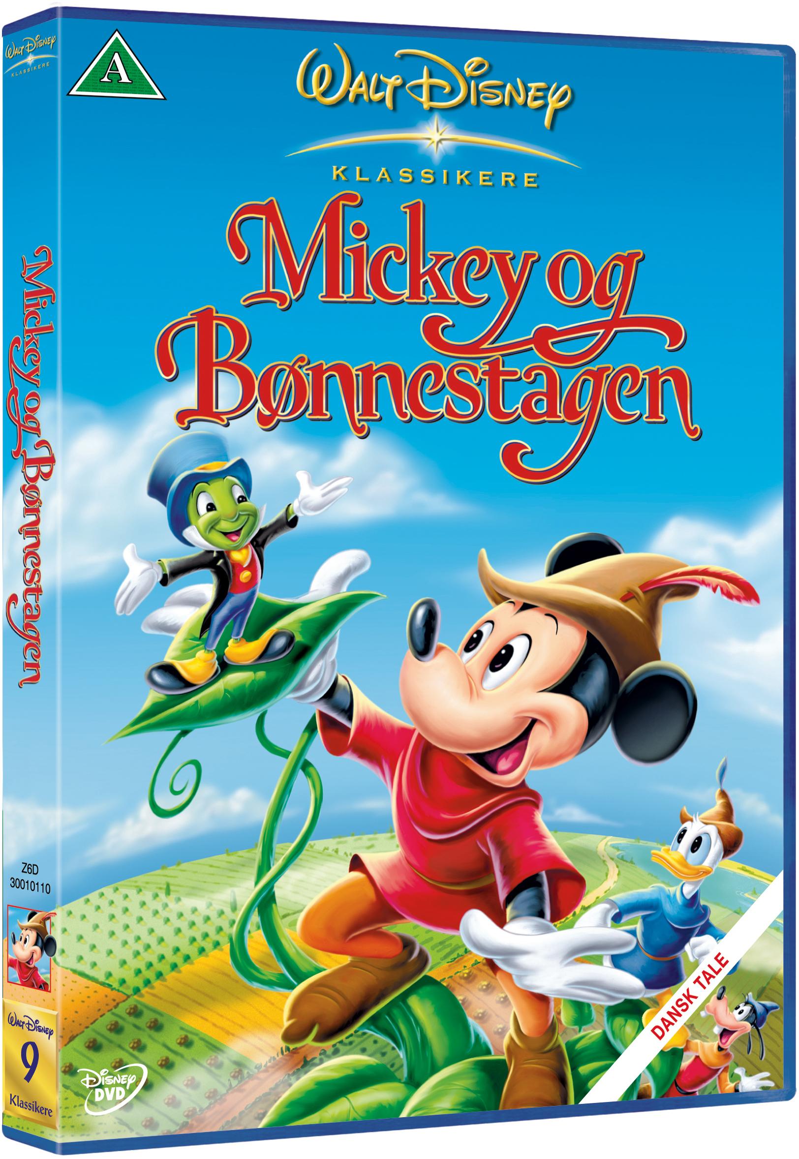 Disneys Mickey Og Bønnestagen - DVD