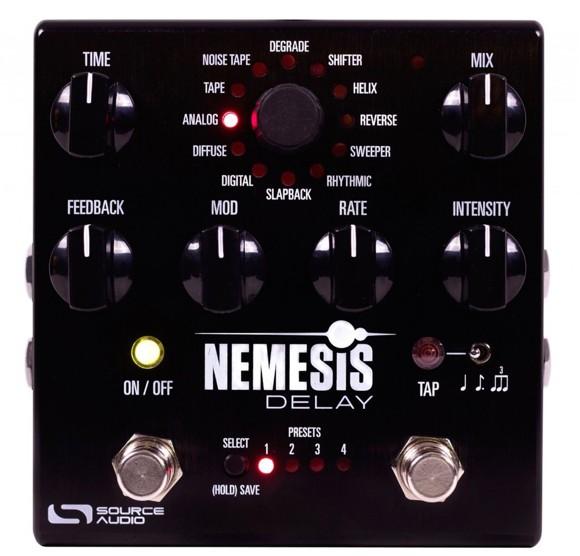 Source Audio - Nemesis Delay - Guitar Effect Pedal