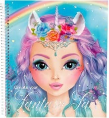 Top Model - Fantasy Face Coloring Book (045298 )