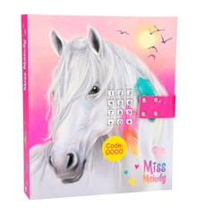 Miss Melody - Dagbog m/kode & musik - Pink