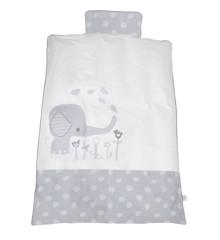 Baby Dan - Junior Bedcover Elefantastic - Grey