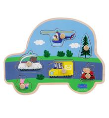 Gurli Gris - Knoppuslespil - Transport