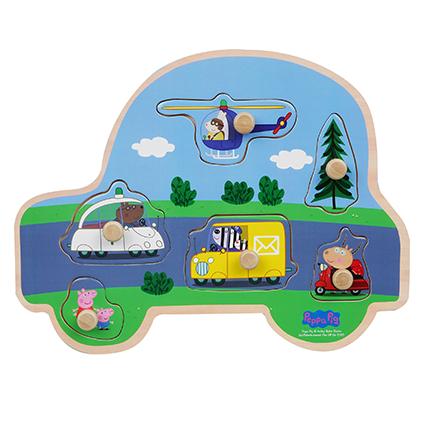 Peppa Pig - Puzzle - Vehicles (8981)