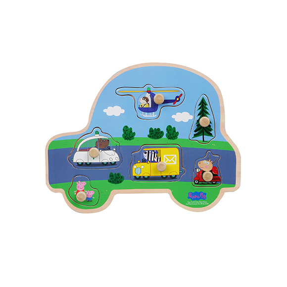 Peppa Pig - Puzzle - Vehicles (8981)