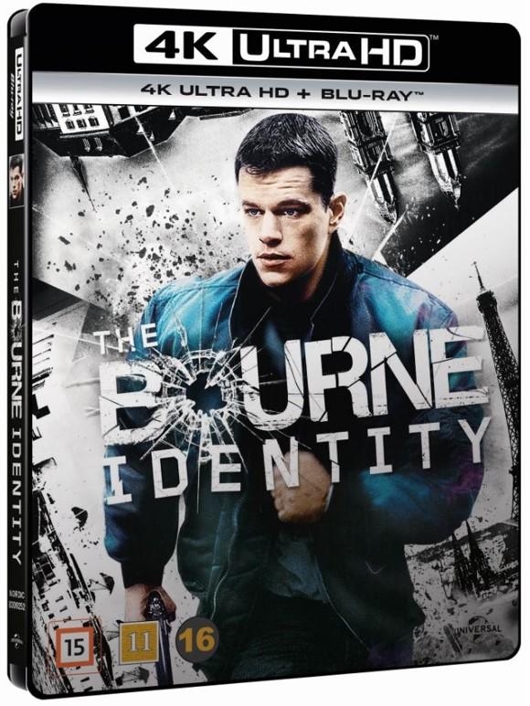 The Bourne Identity (4K Blu-Ray)