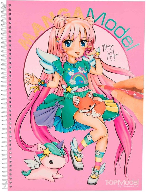 Top Model - MANGAModel- Designbook (046581)