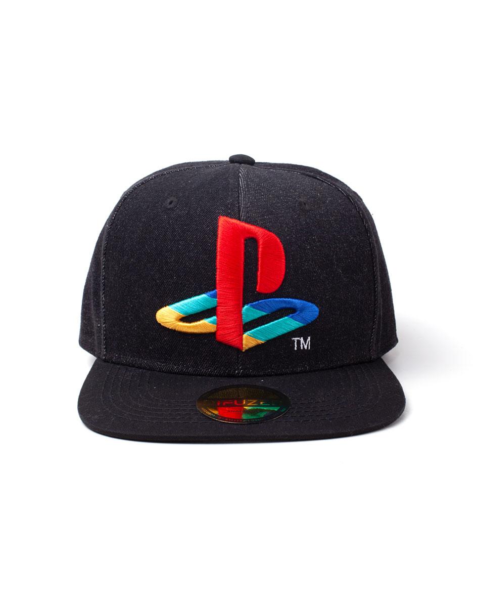 Playstation - Logo Denim Snapback Cap (One-size)