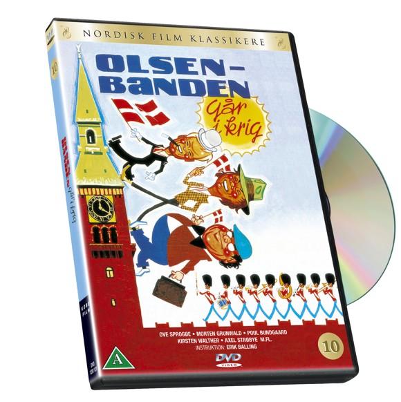 Olsen Banden 10 - Går i krig - DVD