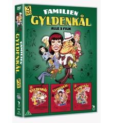 Familien Gyldenkål - 3 DVD Boks