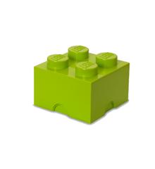 Room Copenhagen - LEGO SOpbevaringskasse Brick 4 - Gul/grøn