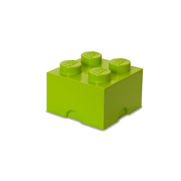 Room Copenhagen - LEGO Storeage Brick 4 - Bright Yellow Green (40031220)