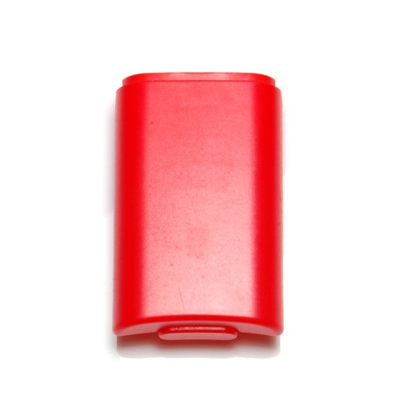 ZedLabz battery holder shell cover for Microsoft Xbox 360 wireless controllers - 2 pack red