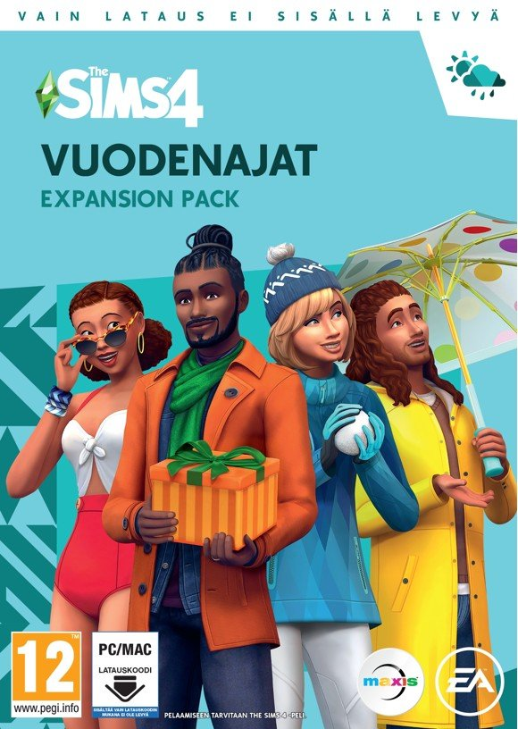 The Sims 4. Seasons - Vuodenajat (FIN)