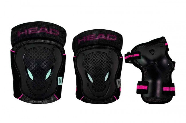 Head - Safty Set - Black/Cerise - (PO.7 CERISE S)