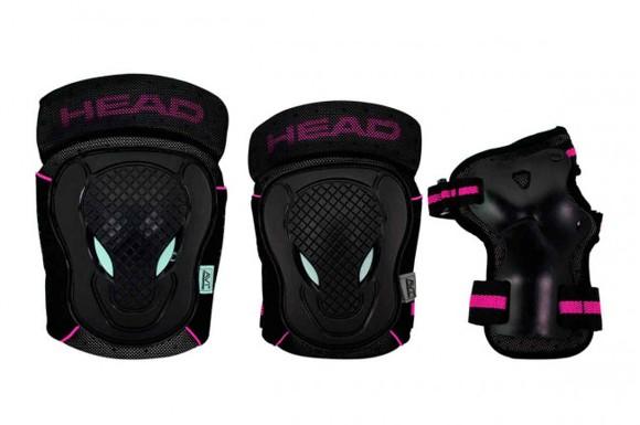 Head - Safty Set - Black/Cerise - (PO.7 CERISE S)